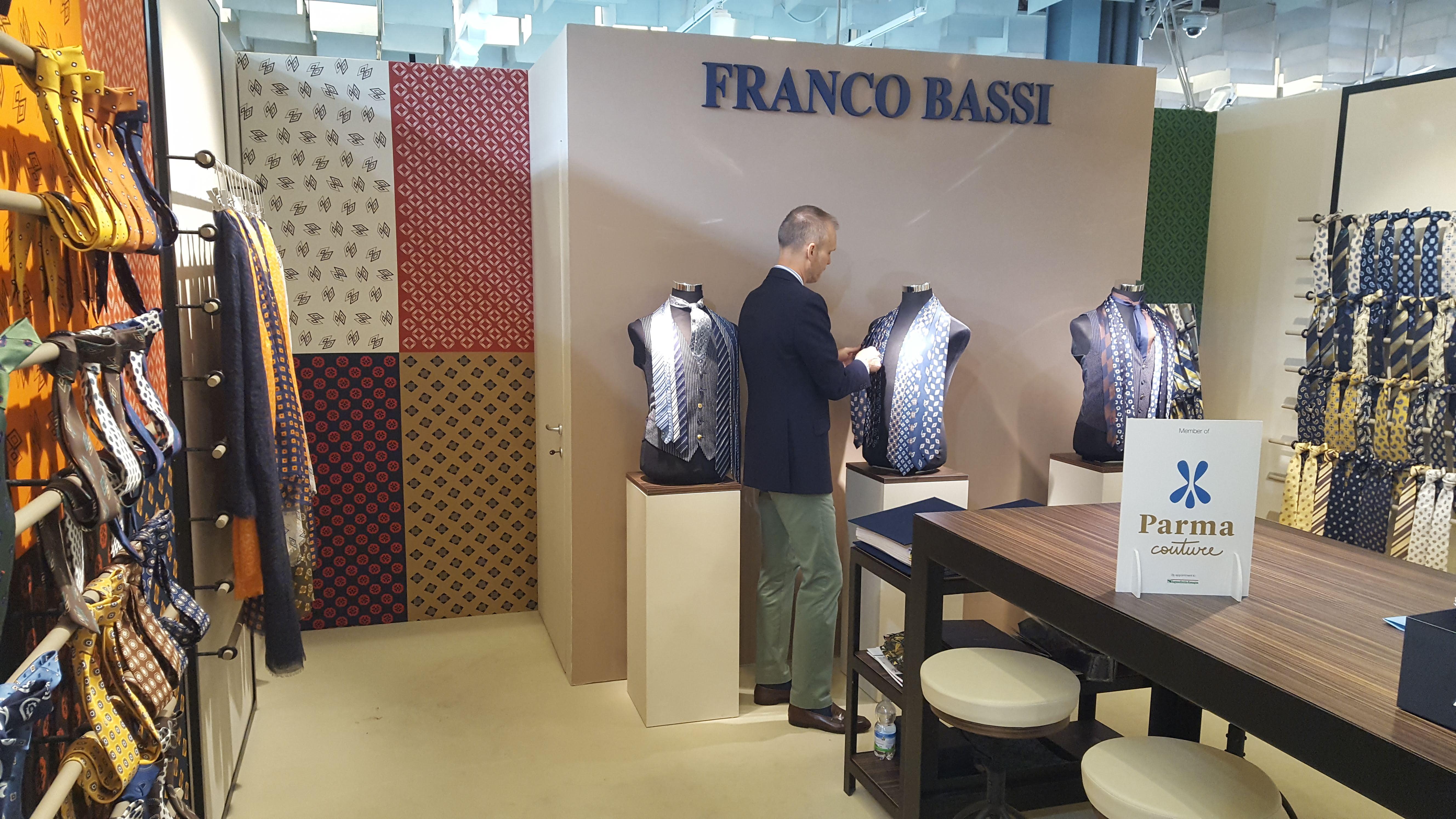Parma couture bb cravatte srl franco bassi for Bb italia srl